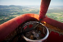 hot air balloon gas photo