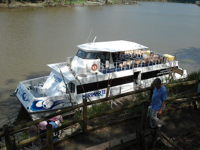 Miramar Cruises Boat on the Brisbane River